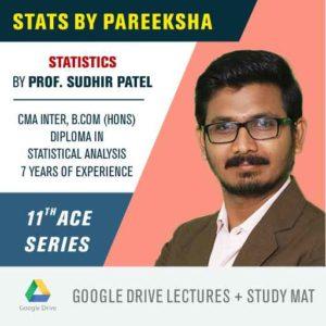 CBSE 11 Commerce Stats Syllabus Video Classes by Pareeksha Commerce Academy