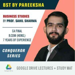 CBSE 12 Commerce Business Studies BST Syllabus Video Classes by Pareeksha Commerce Academy