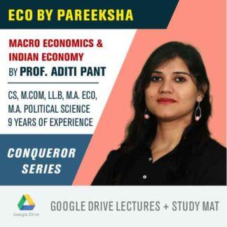 CBSE 12 Commerce Economics Syllabus Video Classes by Pareeksha Commerce Academy