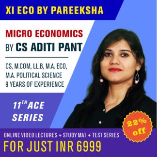 CBSE 11 Commerce Economics Syllabus Video Classes by Pareeksha Commerce Academy on LectureKart
