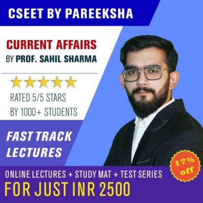 ICSI CSEET Current Affairs VIDEO CLASSES by Pareeksha Commerce Academy on LectureKart