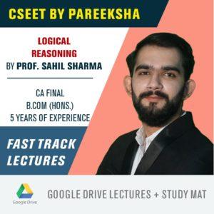 ICSI CSEET Logical Reasoning FastTrack Video Classes by Pareeksha Commerce Academy