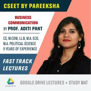 ICSI CSEET Business Communication FastTrack Video Classes by Pareeksha Commerce Academy