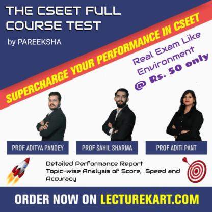 CSEET Full Course Online Mock Test by Pareeksha | LectureKart